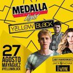 medalla yellow block